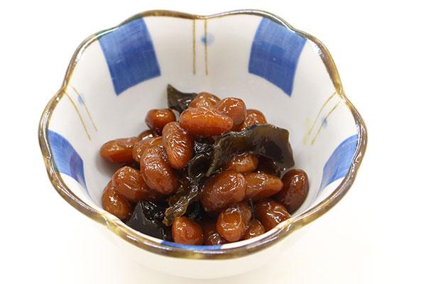 「県産大豆の煮豆」